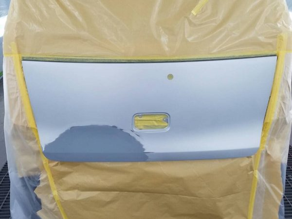 ワゴンR板金塗装