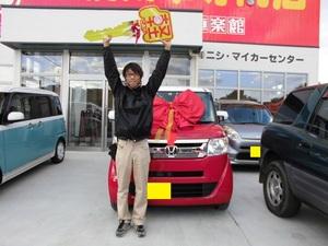 ホンダ N-BOX/(スラッシュ)納車式サムネイル